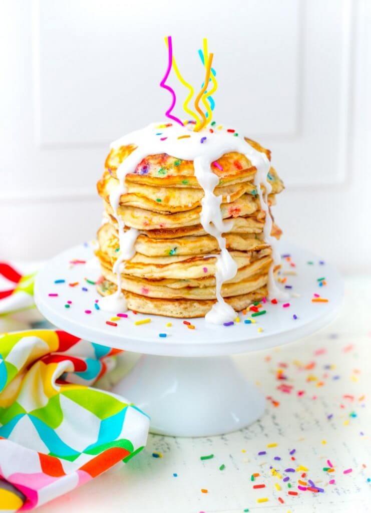 funfetti easy pancake recipes for kids