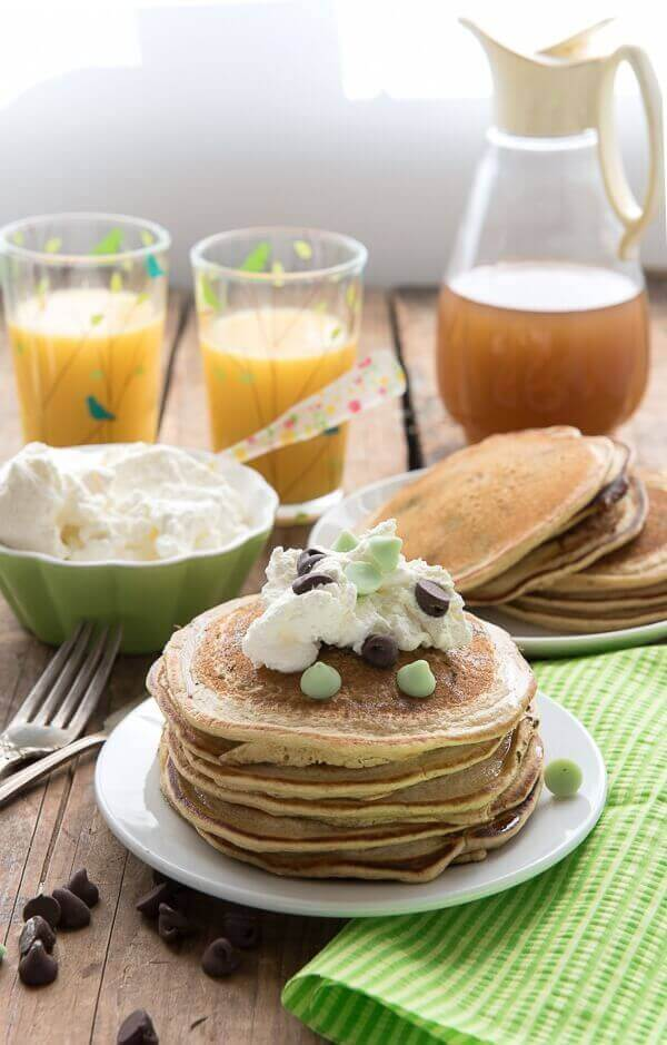 pancake recipe for st patricks day