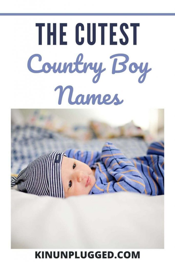 cute country boy names for baby