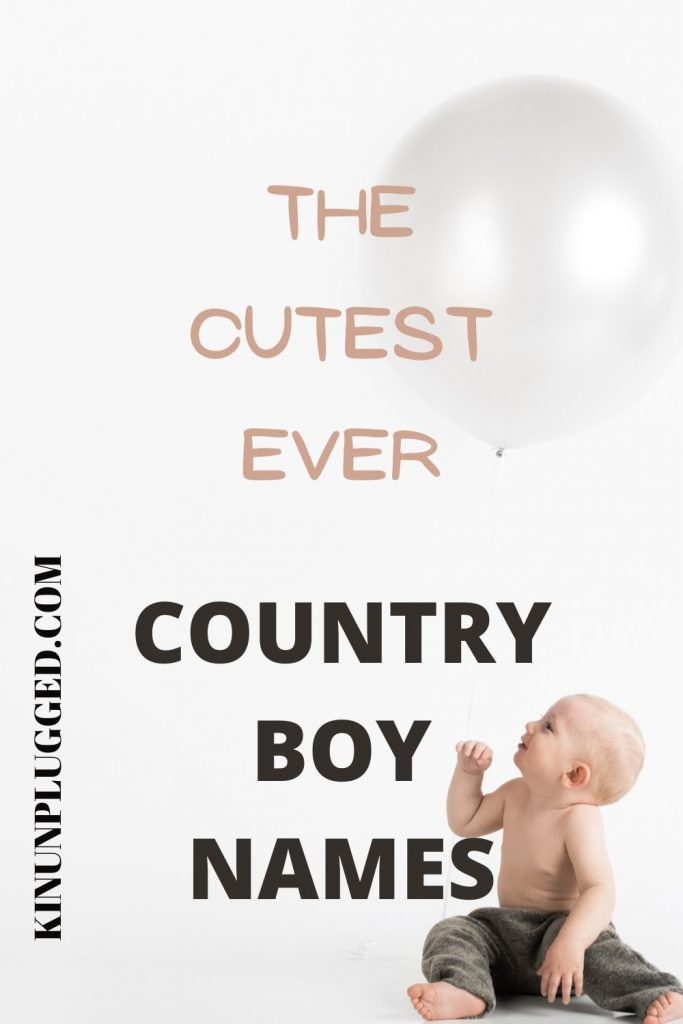 cute country boy names
