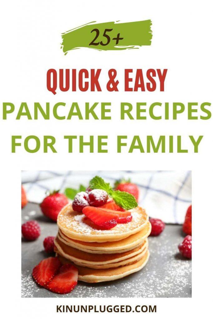 quick easy pancakes